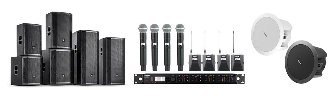Audio visual equipment supplier